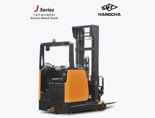 Xe nâng reach truck ngồi lái J series