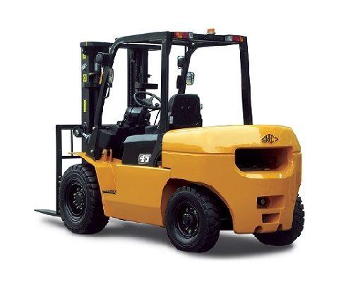 Xe nâng dầu diesel 4-5 tấn