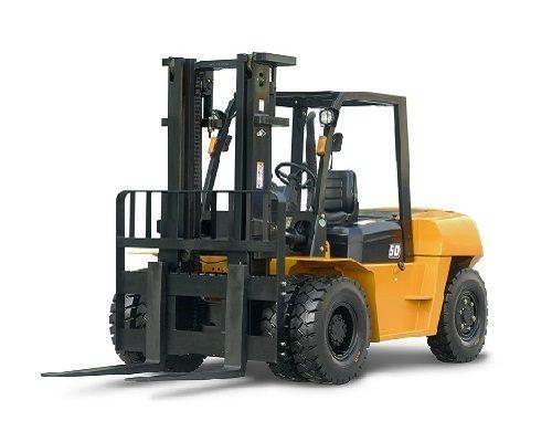 Xe nâng dầu diesel 5-7 tấn
